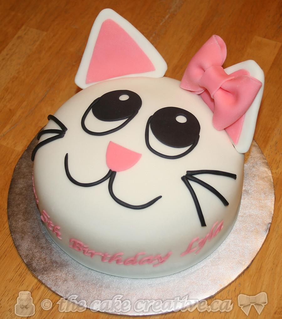 Strange Kitty Cat Birthday Cake A Photo On Flickriver Funny Birthday Cards Online Overcheapnameinfo