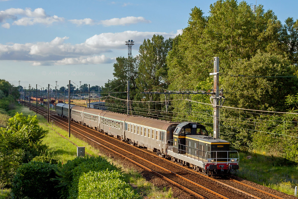 25 Juin 2016 Bb 66304 Train 803103 Arcachon St Jory Vill Flickr