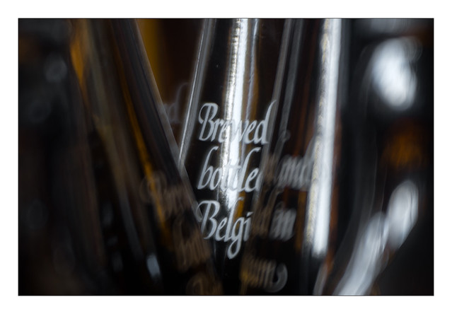 Brewed Bottled Belgium