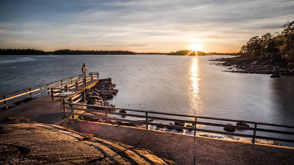 4f788aa015a ... Lauttasaari at sunset - Helsinki