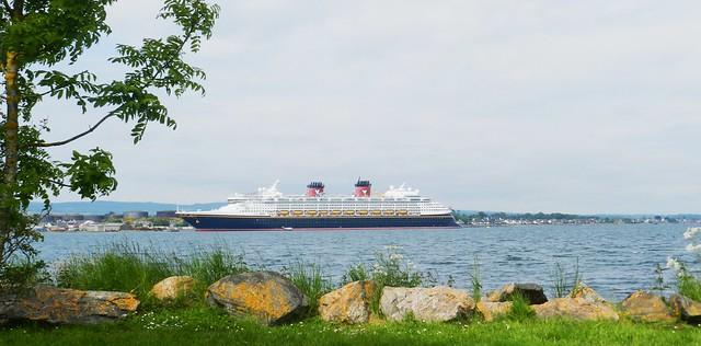 Disney Magic Cruise Ship, Invergordon, Easter Ross, 8th June 2016
