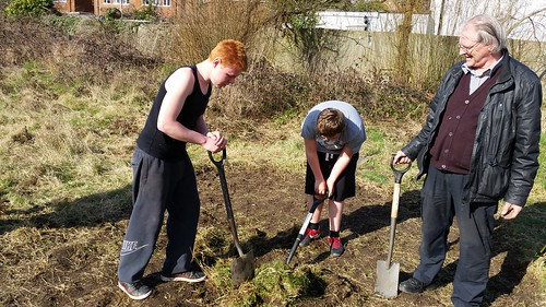 Aldernay West Community garden Poole | by The Big Dig