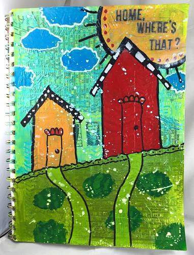 Exploring ARt Journaling 5; Day 21