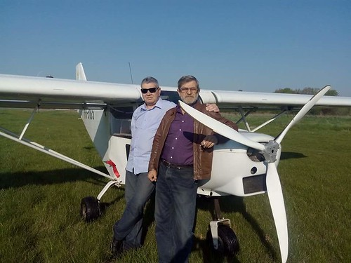 Aerodromul Clinceni, cu Ioan Itu; 26 aprilie 2015