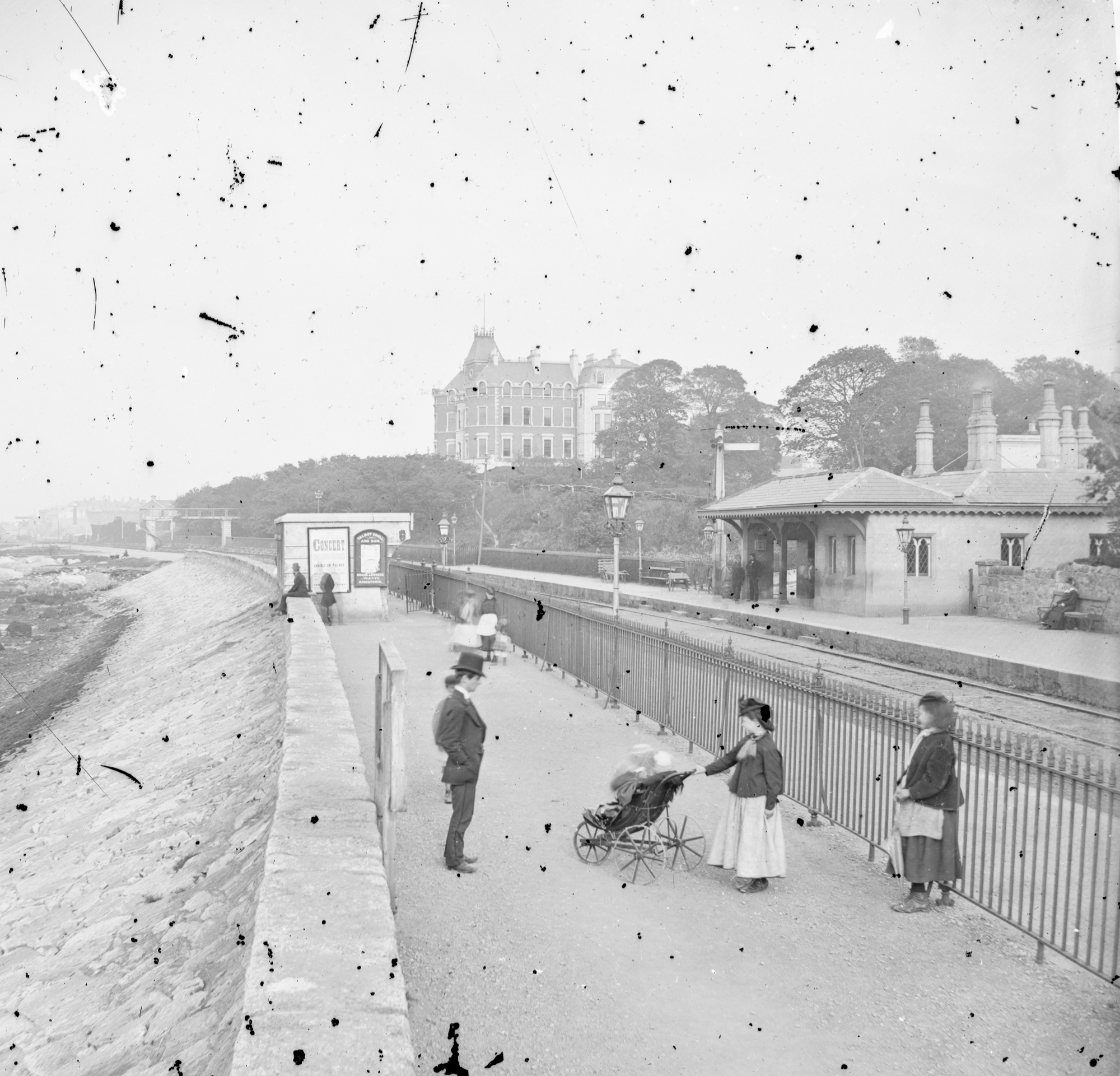 Salthill Railway Station and Hotel