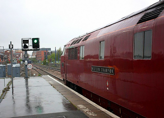 A damp start at Birmingham Snow Hill