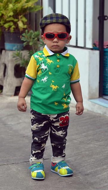 fashionable boy