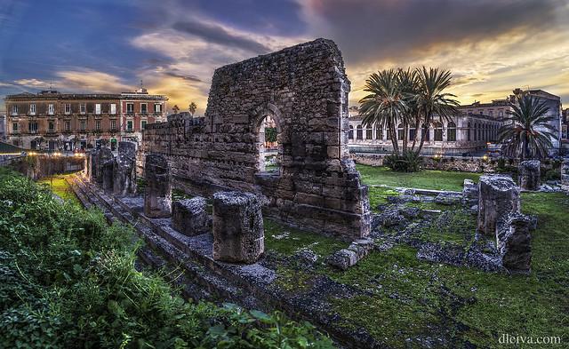 Templo de Apolo (Siracusa, Sicilia)