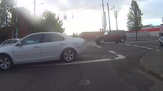 very dangerous pass and head on collision avoided