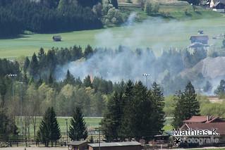 Waldbrand bei Nötsch