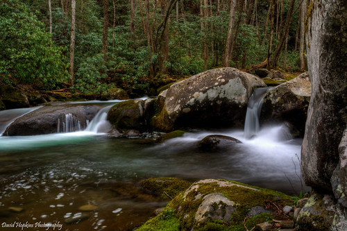 longexposure moss rocks hiking bigcreek greatsmokymountainsnationalpark gsmnp haywoodcounty davidhopkinsphotography