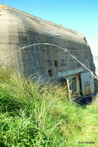 Bunker on Hitlers Atlantic wall Ostend