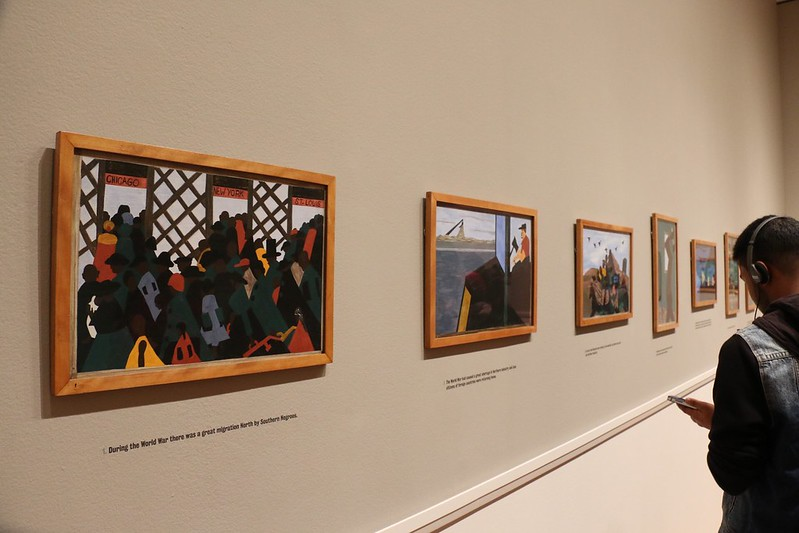 Migration Series-Jacob Lawrence at the MOMA.