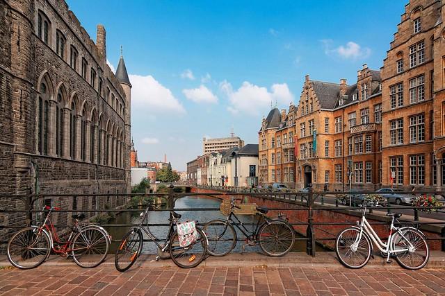 Gent / Reep view from Limburgstraat