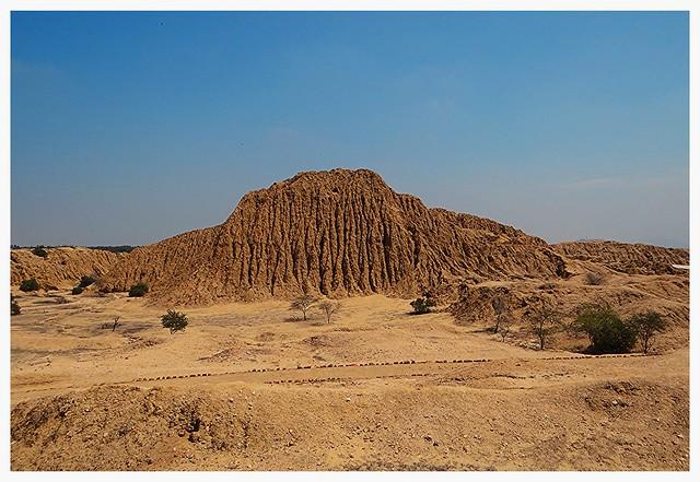 Huaca de Lambayeque.