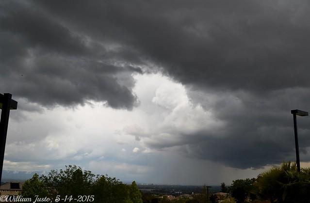 Thunderstorms Bring Heavy Rain, Thunder and Lightning To California! (5-14-15) Photo #4
