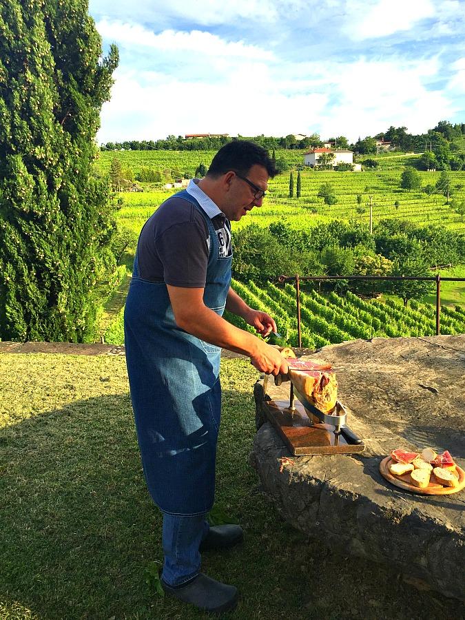 Slovenia Michellin Star Chef, Alessandro Gavagna