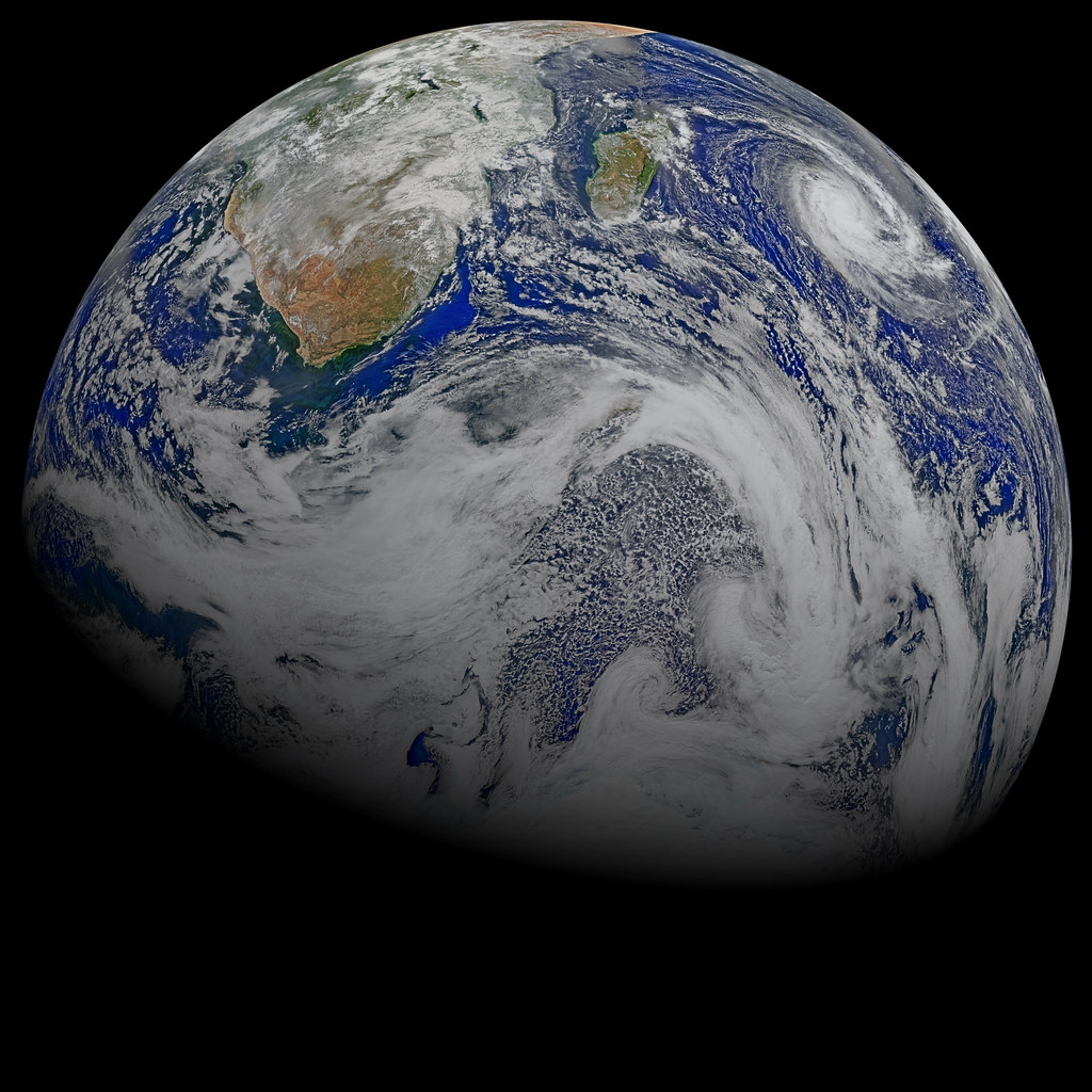 A Sky View of Earth From Suomi NPP