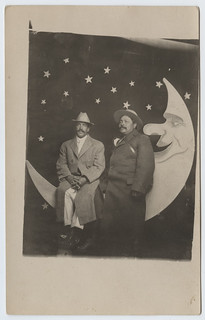 [Two Men on a Paper Moon] | by SMU Libraries Digital Collections