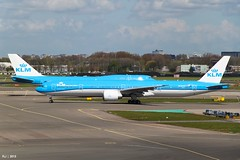 KLM Royal Dutch Airlines, 777-306ER, PH-BVO
