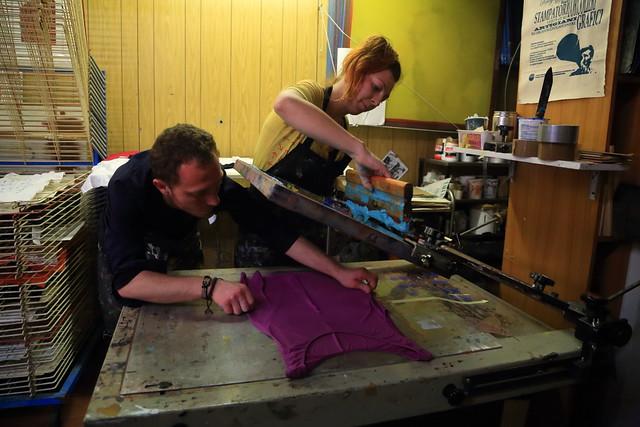 DOPPIO FONDO - laboratorio di stampa d'arte