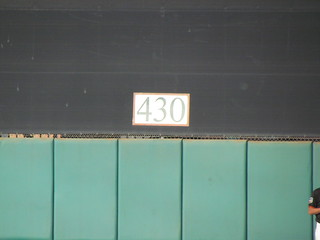 Dead Center at Scottsdale Stadium -- Scottsdale, AZ, March 08, 2016