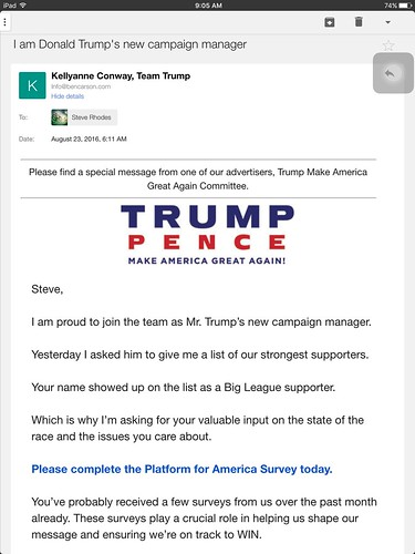8 Email Worst Practices Donald Trump's Campaign Uses