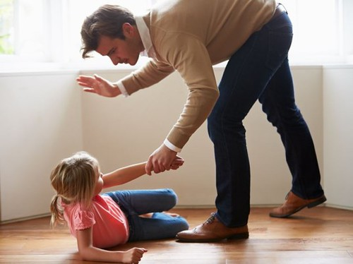 does spanking a child have to be a crime in United States and most other countries?