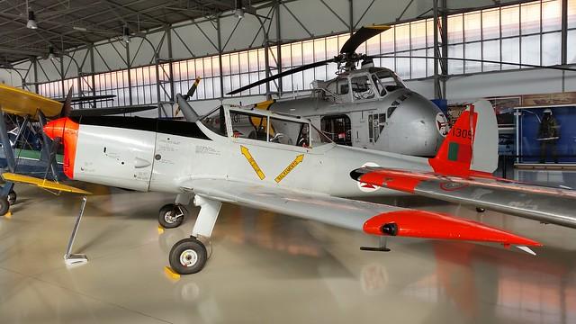 Chipmunk Mk.20 1305 ex Portuguese-AF/FAP. Preserved, Sintra Museum, 13-01-2015.