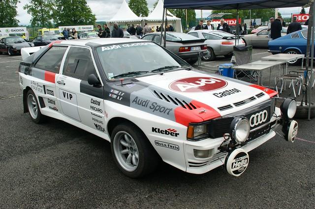 Légendaire Audi Quattro