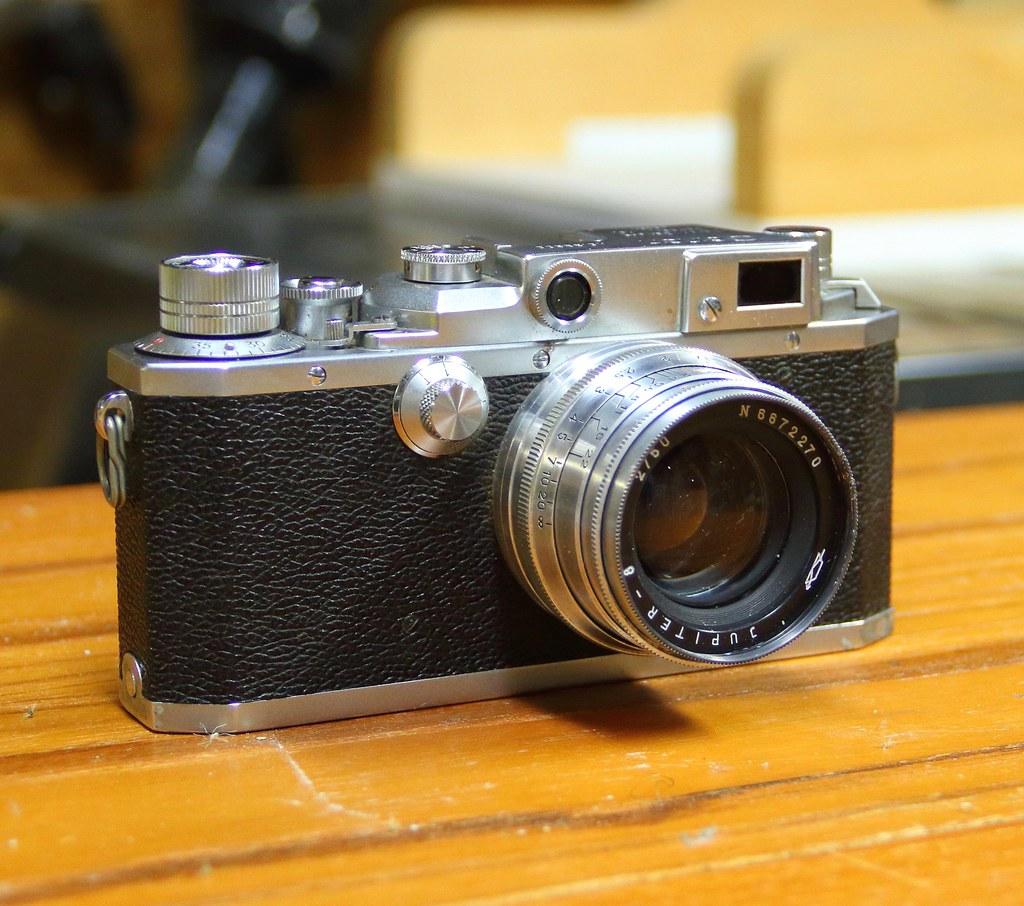Canon IIIA (1951-1953) | Lens: Jupiter-8 1:2 0 f=50mm Made i… | Flickr