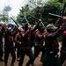 Hommage aux compañeros Villoro & Galeano, caracol de Oventik, Chiapas, Mexique le 2 mai 2015