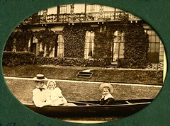 Boating in the garden