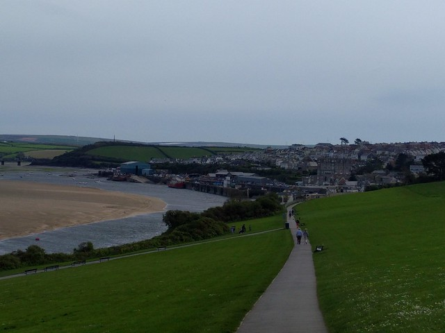 Padstow - the end of the walk #SWCP #sh