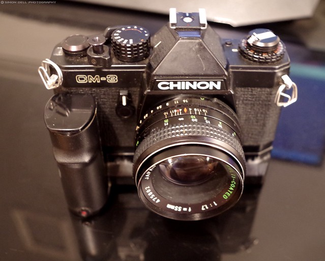 chinon cm.3 with grip