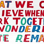 Bob & Roberta Smith - vote remain tomorrow X