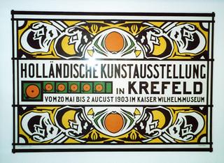 German art exhibition poster