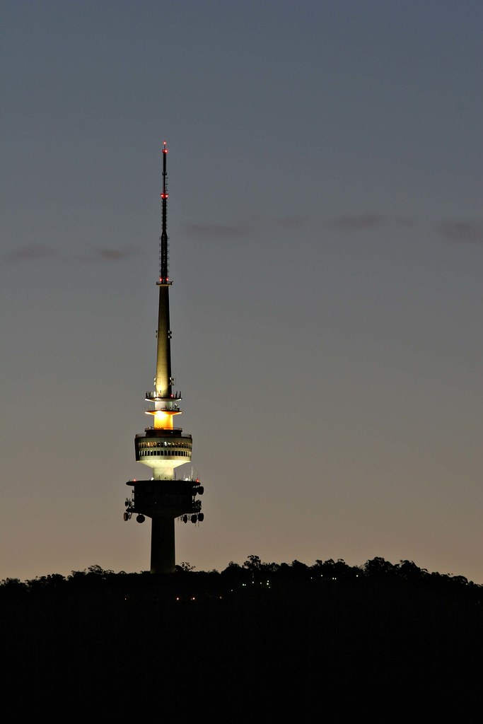 Image: Telstra Tower by Twilight