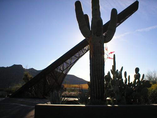 sunset arizona desert scenic sundial saguaro cavecreek carefee ktpalmer maparizona mapmaricopa mapcarefree mapcavecreek