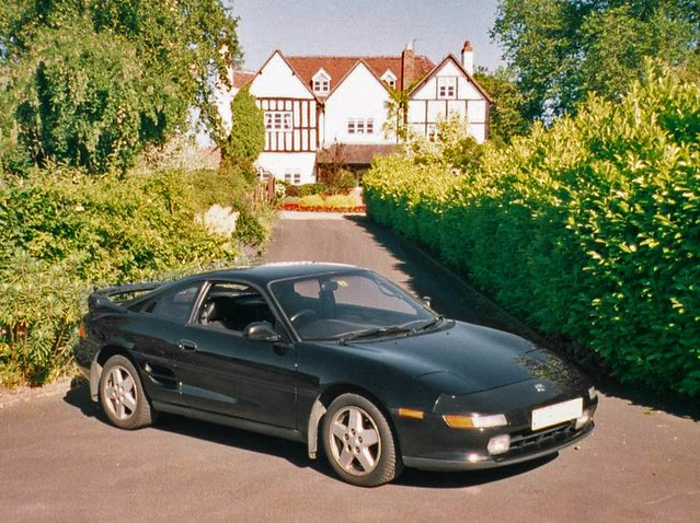 My Old Car Toyota Mr2 Turbo Import It Did 158mph And Flickr