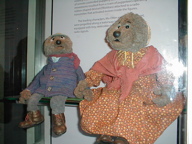 Emmet Otter Jug Band Christmas.Puppets From Emmet Otter S Jug Band Christmas From An Ex
