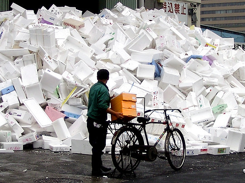 Trash Day   by calonda