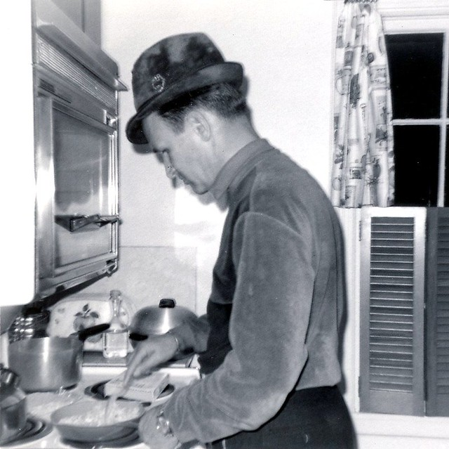dad cooking