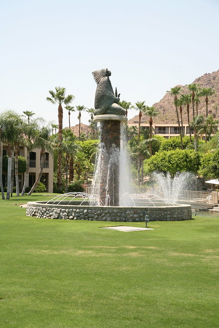 Fountain at The Phoenician