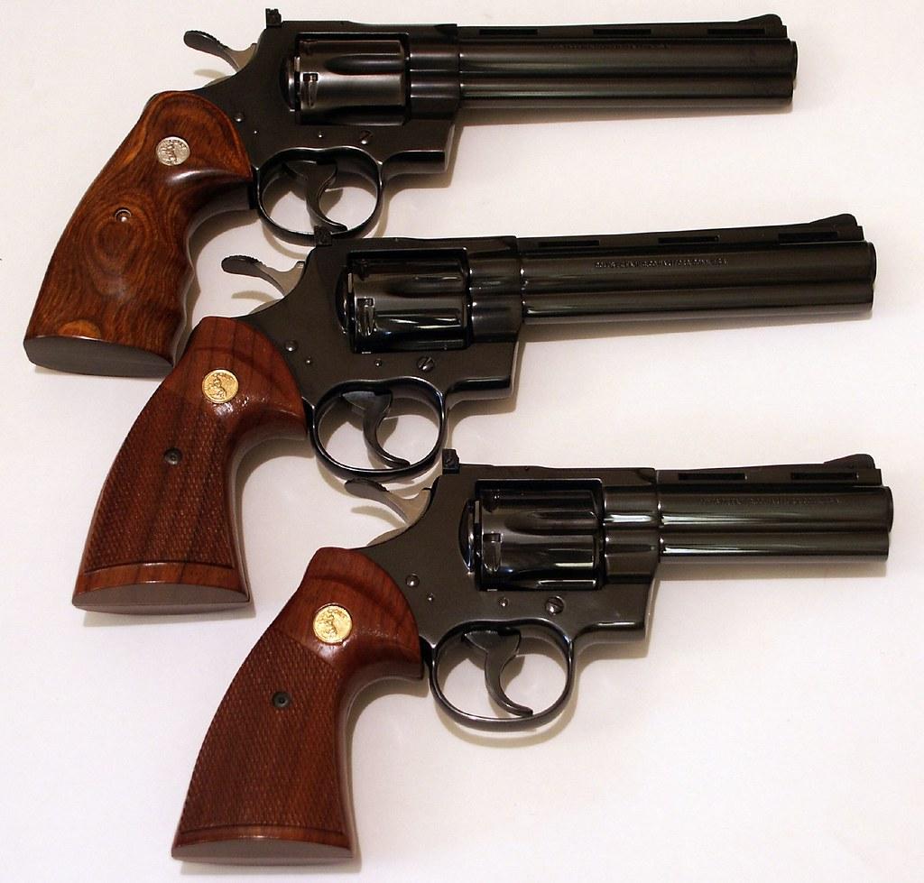 Colt Pythons | Trio of Colt Python  357 Magnums | Stephen Z | Flickr