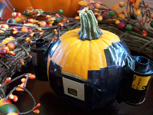 pinhole camera made from a real pumpkin! | by Haiku Garry