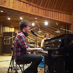 Wed, 19/08/2015 - 9:57pm - Ben Folds performs with yMusic at Avatar Studios in New York City, with a small audience of WFUV Members. 8/18/15 Hosted by Alisa Ali. Photo by Gus Philippas
