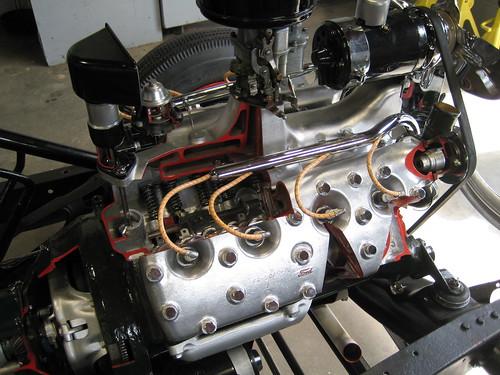 family ford washington view engine collection motor v8 flathead marymount internal lemay cutaway spanaway
