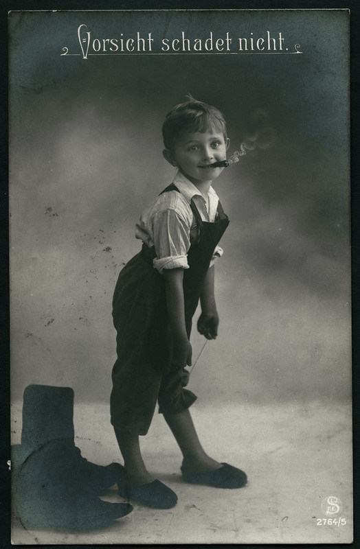 Archiv C637 Vorsicht schadet nicht, (front), Rheydt, 30 September 1912