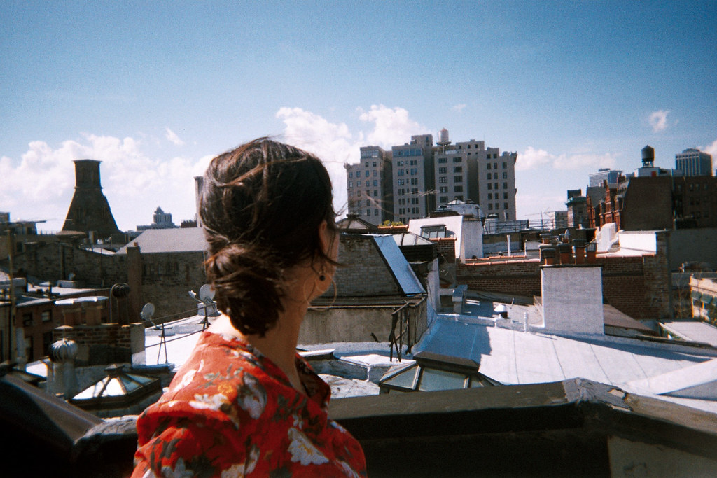 Some lame rooftop in Brooklyn